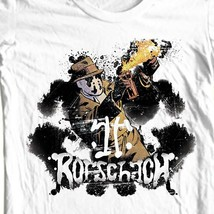 Rorschach The Watchmen T-shirt  DC Comics graphic novel 1980s graphic tee WBM260 image 1