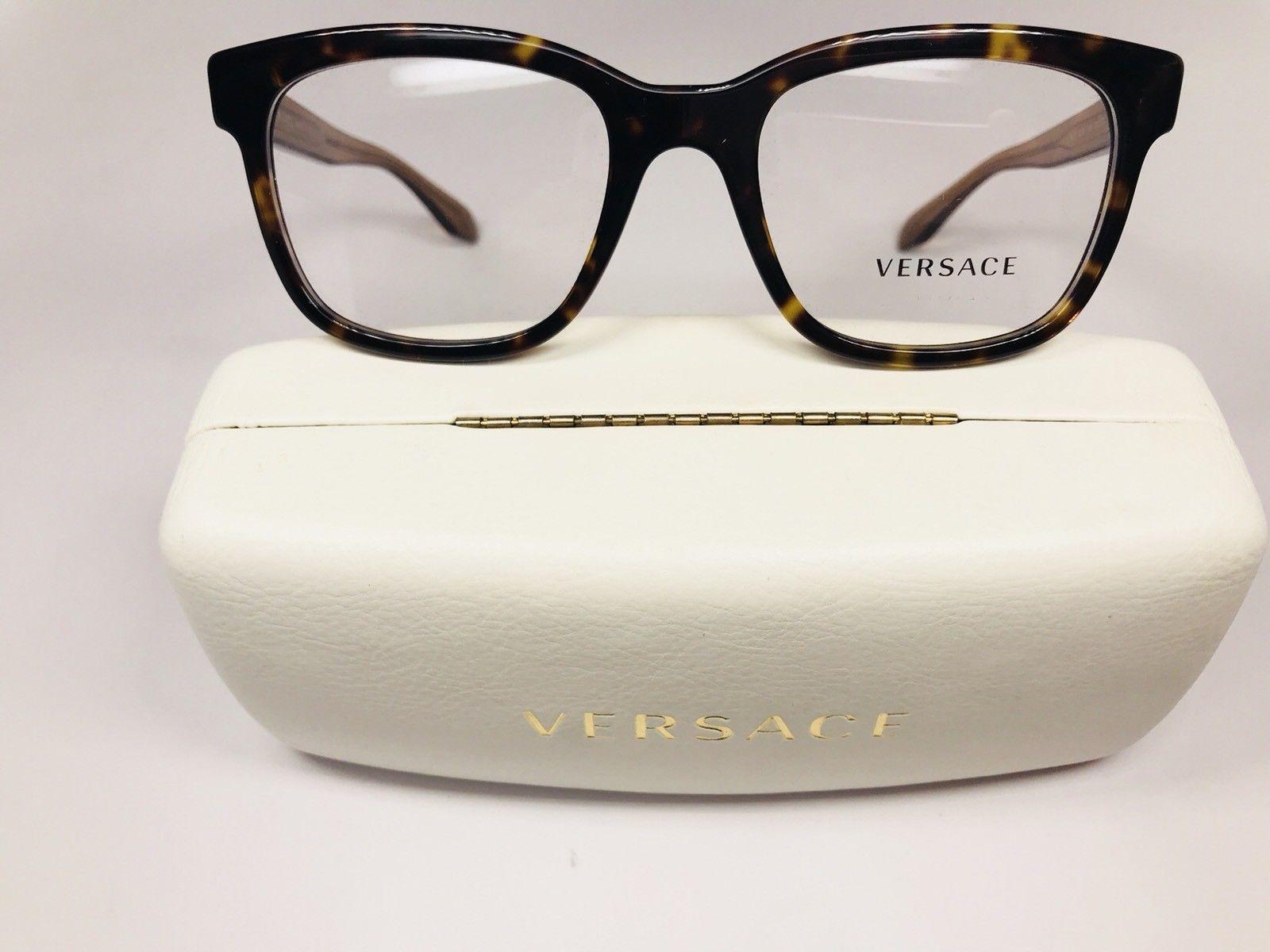 d1740e9466ab New Versace MOD 3239 108 Havana & Clear and 50 similar items