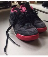 Nike Air Jordan IV 4 Denim Retro GG Size 2Y Girls Shoes Kids - $23.38