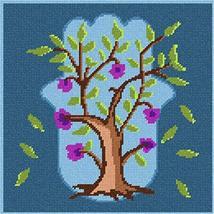 pepita Hamsa Tree of Life Needlepoint Canvas - $82.00