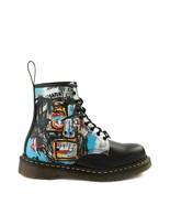 NEW Womens Dr. Martens x Basquiat 1460 8-Eye Boot Black Multicolor - $199.99