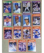 Donruss Baseball Cards Lot of 15 Armas Miller Cox Sutcliffe Grace Brooks... - $15.75