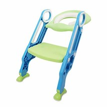 Potty Training Toilet Seat with Step Stool Ladder,Adjustable Baby Toilet... - $34.15