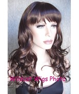 SALE!  Sexy Carlotta Wig ..  Color 6/30 Chestnut with Auburn Highlights ... - $18.99