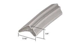 """Gray 7/16"""" Wide Glazing Spline - 100 ft Roll - $34.60"""