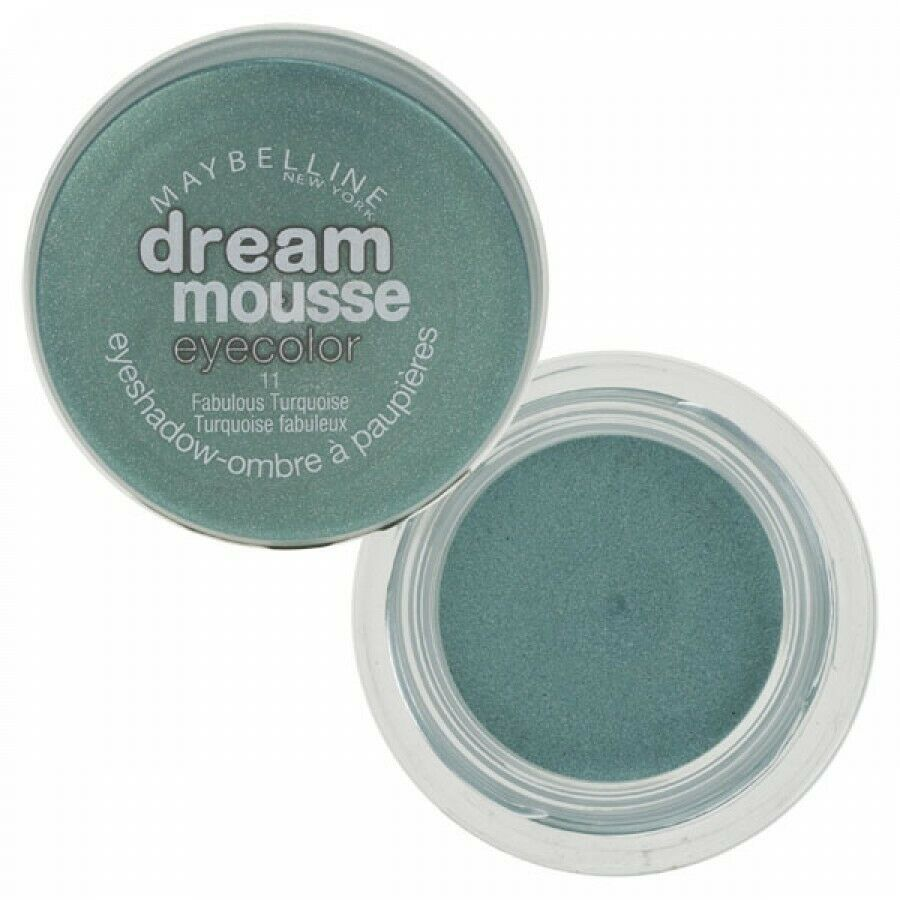 Primary image for Maybelline Dream Mousse Eyecolor 11 Fablous Turquoise