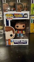 Funko Pop! Movies Back to the Future Marty McFly #49 Vinyl Figure WITH P... - $16.60