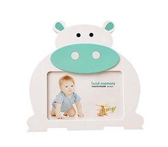 6 inch Creative Cartoon Cute Baby Photo Frame BLUE Cows Models
