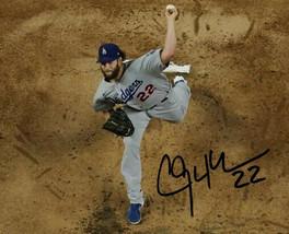 * Clayton Kershaw Signed Photo 8X10 Rp Autographed La Dodgers - $19.99