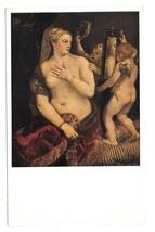 Titian Venus with a Mirror National Gallery of Art Washington DC Postcard - $3.99