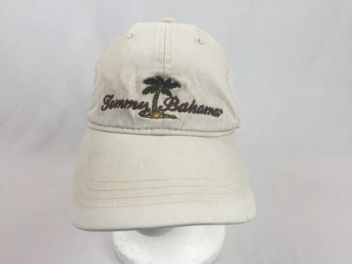 tommy bahama relax baseball cap khaki adjustable hat palm tree crazy