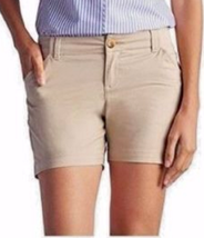 Tommy Hilfiger Women's Flat Front Stretch Walking Shorts Cobblestone  Sz... - $15.79+