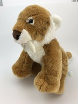Build A Bear Saber Tooth Tiger Plush Stuffed Animal - $17.82
