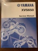 Yamaha XVS650 Service Manual V Star V Twin LIT-11616-XV-00 New - $42.48