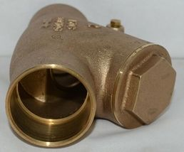 Unbranded Two Inch Lead Free Bronze Check Valve Y Pattern image 4