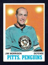 1970-71 Topps #90 Jim Morrison Pittsburgh Penguins NM near mint condition - $4.50