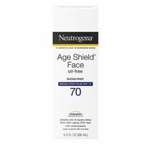 Neutrogena Age Shield Anti-Oxidant Face Lotion Sunscreen / Broad Spectrum SPF 70 - $10.39