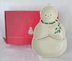 Lenox, Snowman Sweets Dish, in Box - $12.00