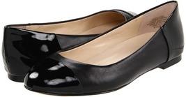 Jones New York Women's Gillvany Black Leather Ballet Flat Shoe Size 6 M - $27.95