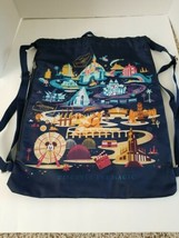 Walt Disney Parks  Discover the Magic Light Weight Backpack, Navy Blue, EUC - $21.73