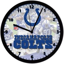 "Indianapolis Colts LOGO Homemade 8"" NFL Wall Clock w/ Battery Included - $23.97"