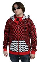 UGP Bajo Suelo Productos Bricolaje Hombre Rojo Con Sudadera con Cremallera Nwt image 3