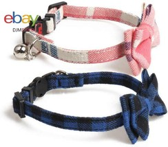 Briller Cat Collar With Bells Baby Boy Girl Dog Bow Ties Pet Bowties Col... - $14.67