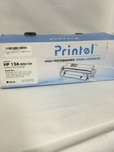 Printel -  Toner Cartridge for HP 12A (Q2612A) Black  For HP Laser Jet - $9.21