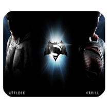 Mouse Pad Batman VS Superman New Fight Action Superheroes Movie Game Ani... - $76,34 MXN