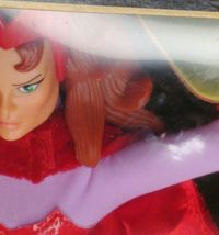 """Marvel Famous Cover Series 8"""" Ultra Poseable 2000 The Scarlet Witch #48449 NIP image 8"""