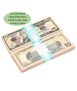 US Prop money replica USD 10 for Movie Decoration kids play 100pcs/pack - €10,61 EUR