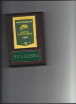 Seattle Supersonics Banner Plaque Nba Champions Champs Basketball Nba - $3.95