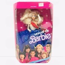 Barbie UNICEF Doll 1989 Blonde Superstar Face Special Edition #1920 NRFB - $19.79