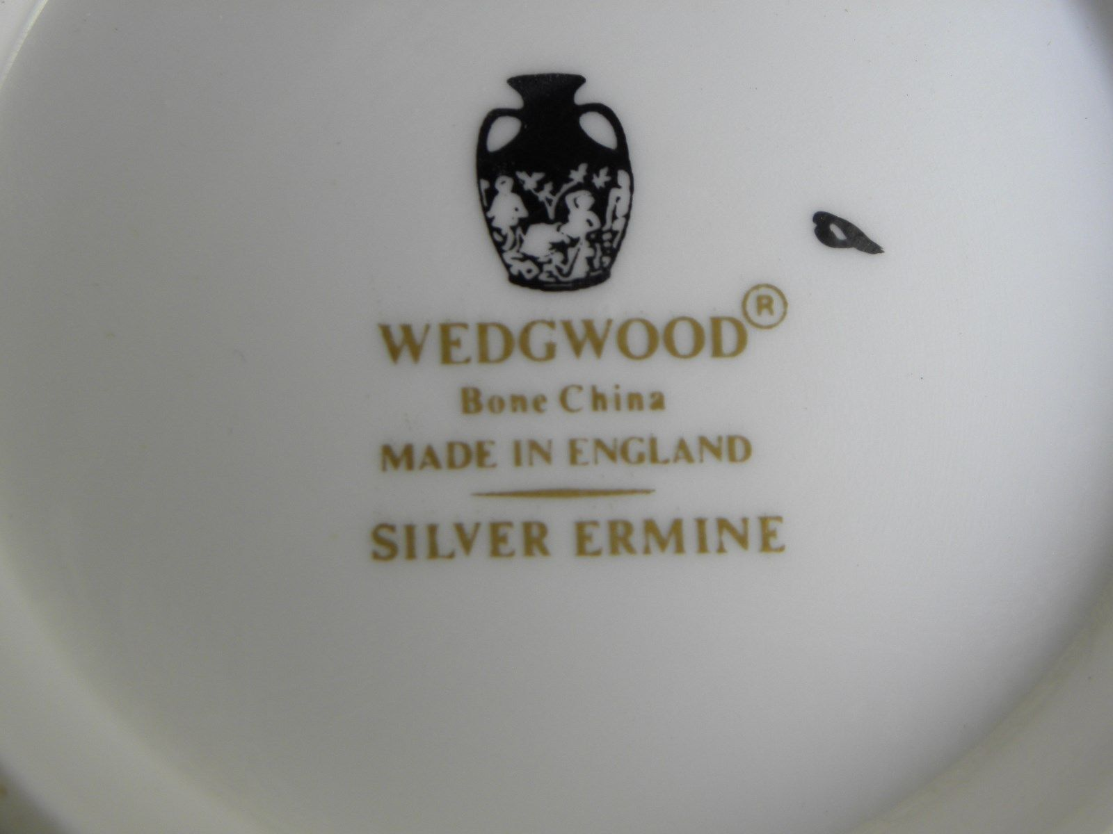 Wedgwood Silver Ermine Covered Sugar image 2