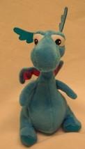 "TY Disney Jr. Doc McStuffins STUFFY THE BLUE DRAGON 6"" Plush STUFFED ANI... - $14.85"