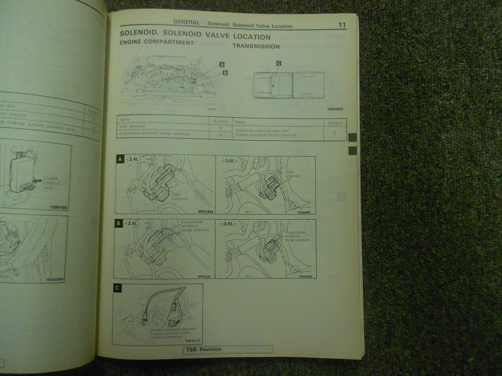 1992 1996 MITSUBISHI TRUCK Service Reoair Shop Manual VOLUME 2 FACTORY OEM 92 96 image 7