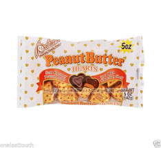 Palmer 5 Oz Bag P EAN Ut Butter Hearts Chocolate Candy Valentines Exp. 6/20 New! - $2.99