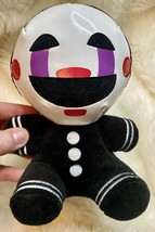 """FNAF Plush Marionette Puppet Authentic Funko Black 8"""" Five Nights at Fre... - $22.16"""