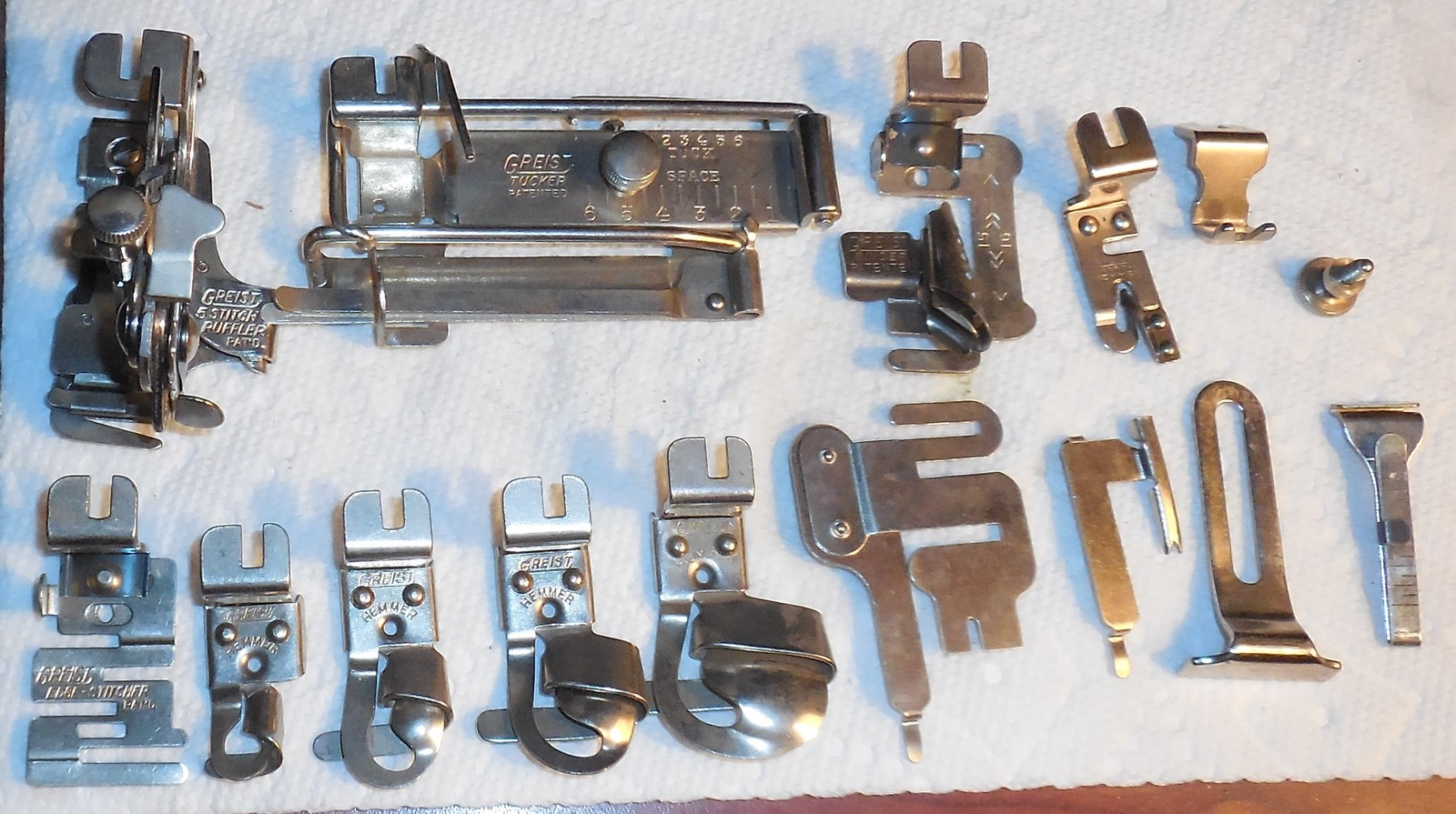 Primary image for Free-Westinghouse Vintage Rotary Attachments In Box Used Works
