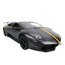 Rastar 1:14 Gray Lamborghini Murcielago LP670-4 Radio Remote Control RC ... - $50.87