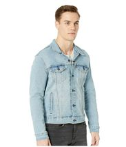 Levi's Men's Classic Button Up Denim Jeans Trucker Jacket Blue Stretch 723340323 image 4