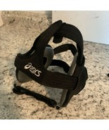 ASICS Black Adult Adjustable Wrestling Ear Guard Head Gear Ear protectio... - $17.77