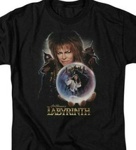Labyrinth Jim Henson's Fantasy Cult film Retro 80's adult graphic t-shirt LAB102 image 2