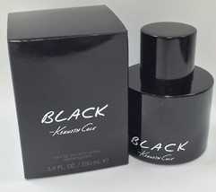 Kenneth Cole Black For Men EDT Spray 3.4 oz/100 ml New In sealed Box - $36.45