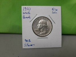 1950 Washington Quarter Better Date - $7.91