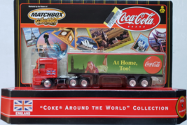 `COCA-COLA Around The World Collection #1  MatchBox Rig Collectibles England - $10.95
