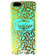 Mary Square Jessica 2 Piece iPhone 6 Tough Case Fearless Mint Green Gold... - $8.79