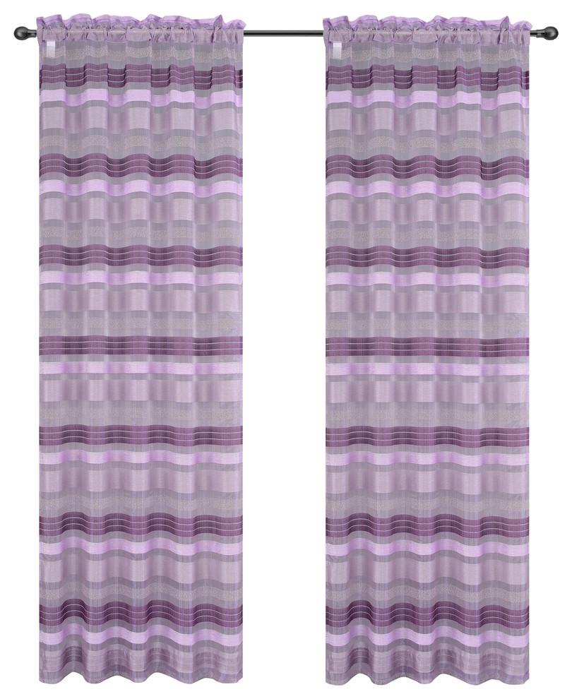 Becca Drapery Curtain Panels image 4