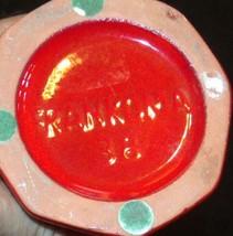 Red Vase (Frankoma 38) AA18 -1078 Vintage Ceramic image 2