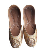 punjabi juttiething shoes, leather shoes, handmad jutti,oneline jutti USA-9 - $29.99